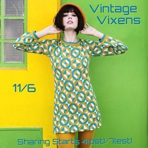 Handbags - FRIDAY 11/6 Vintage Vixens Sign Up Sheet